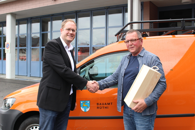 Philipp Scheuble und Hubert Schneider