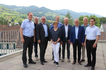 die Delegiertenversammlung des Zweckverbandes Hallenbad Oberes Rheintal